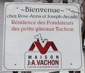 Affiche JA Vachon-Ste-Marie-de-Beauce-Association des familles Drapeau