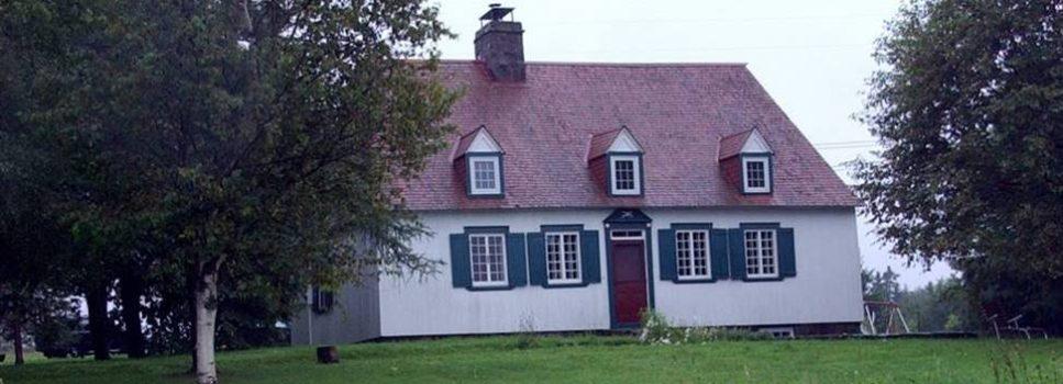Maison d'Antoine Drapeau, ancêtre, à Beaumont.