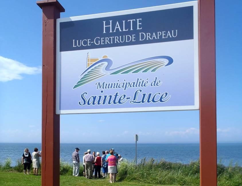 Halte Luce-Gertrude-Drapeau Sainte-Luce