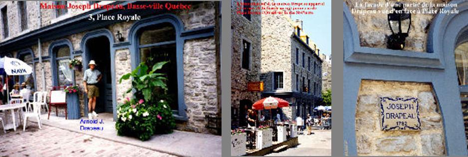 Maison Joseph Drapeau-Québec