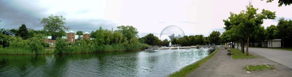 Parc Jean-Drapeau sur l'Ile Sainte-Hélène à Montréal.