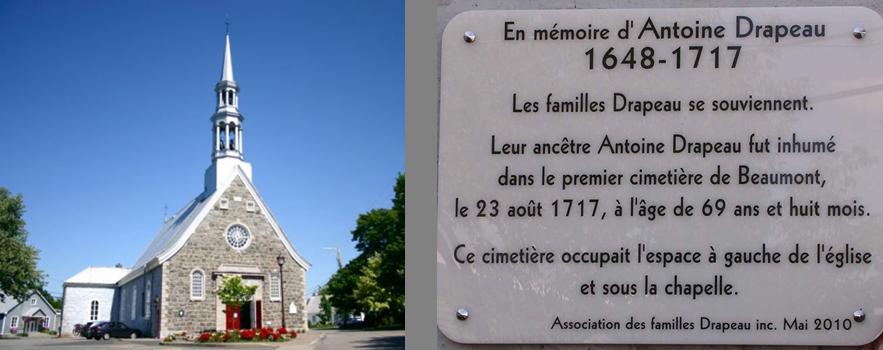 Sépulture Antoine Drapeau.
