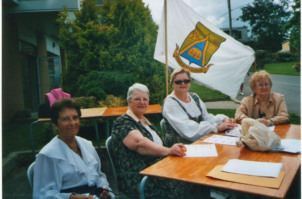 Accueil rencontre 2007 Île dOrléans
