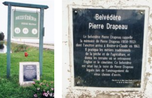 Belvédère Pierre Drapeau