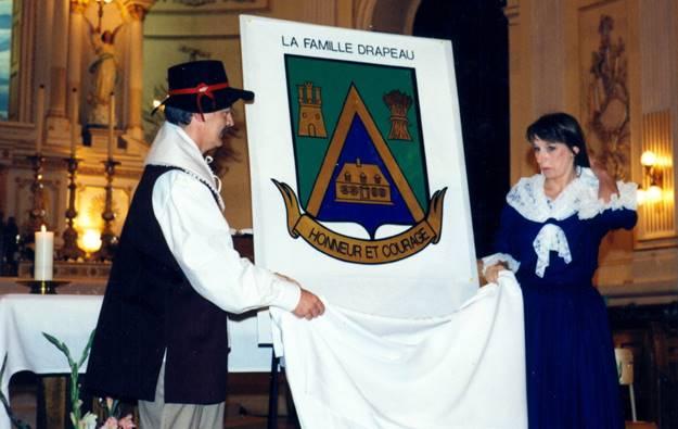 Dévoilement des armoiries Beaumont 1994 - 2