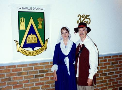 Fête du 325e dAntoine et Charlotte Beaumont 1994 - 2