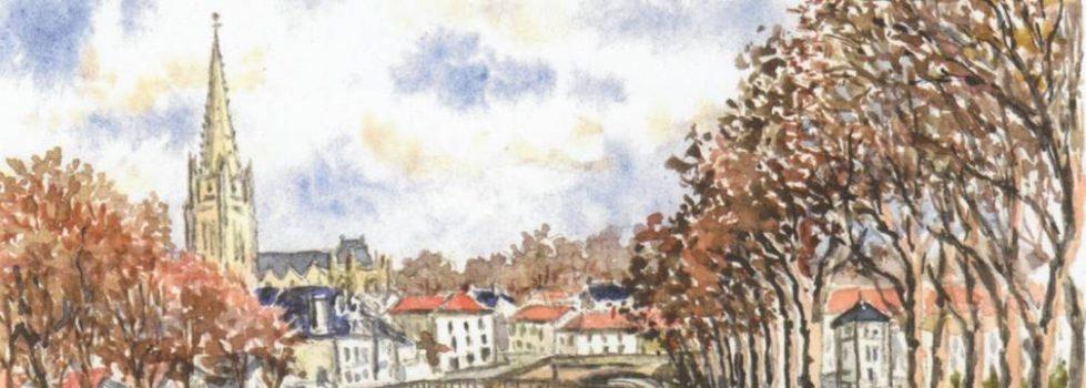 Vue de Fontenay-le-Compte - Pierre Pasquereau