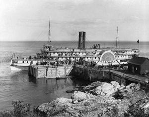 Bâteau à vapeur 1895-LaMalbaie.